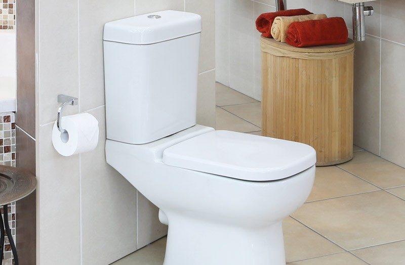 تخلیه آب توالت فرنگی
