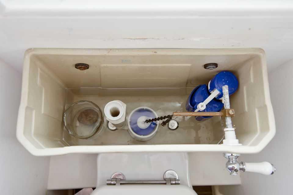 اجزای داخلی تانکر توالت فرنگی