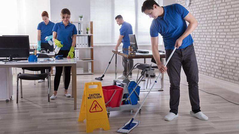 پیدا کردن کارگر ماهر برای نظافت شرکت و محل کار