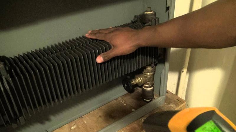 چرا شوفاژ گرم نمی شود و دمای آن کم است؟