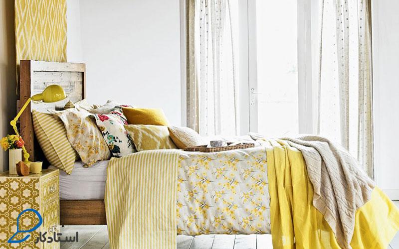 تزیین تخت خواب و مبلمان با استفاده از کوسن و روتختی یکی از راه های کاربردی و ساده تغییر دکوراسیون نشیمن و اتاق خواب برای کسانی است که زمان و هزینه کافی برای تعویض سرویس خواب و پذیرایی خود ندارند.