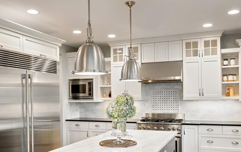 نورپردازی آشپزخانه و کابینت