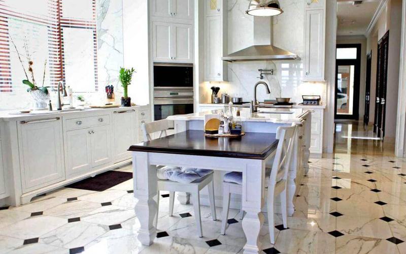 بازسازی کف آشپزخانه