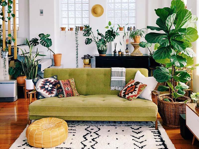 نحوه چیدمان خانه های کوچک | ترکیب رنگ در دکوراسیون خانه کوچک | هارمونی رنگ ها