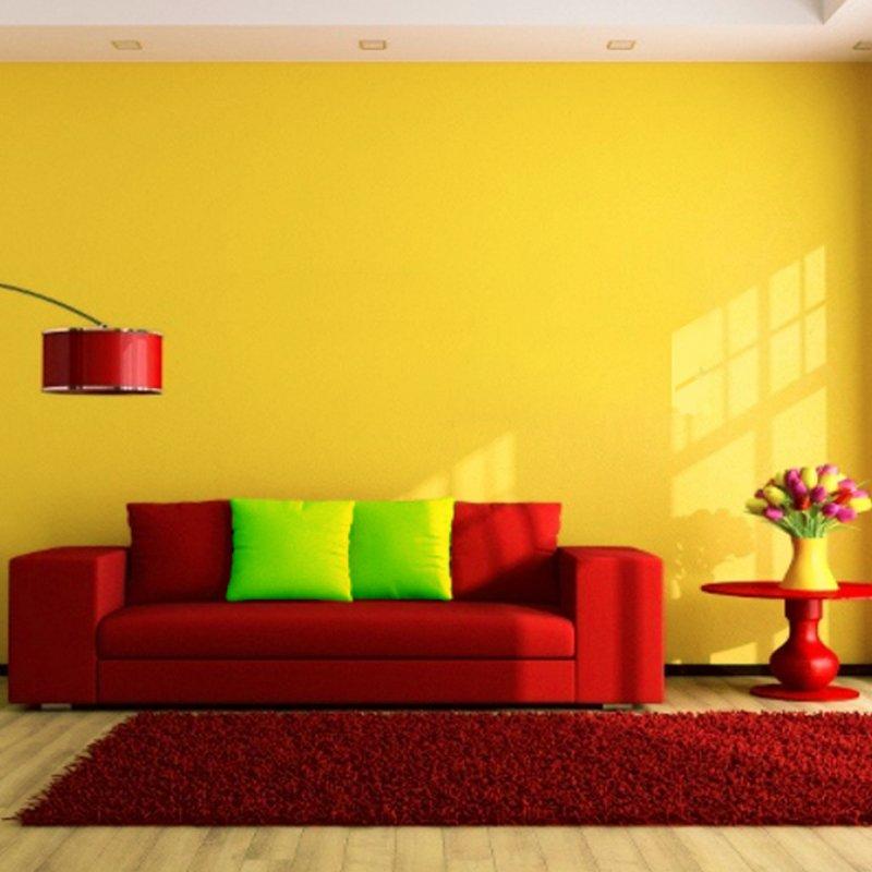 طراحی خانه با رنگهای گرم