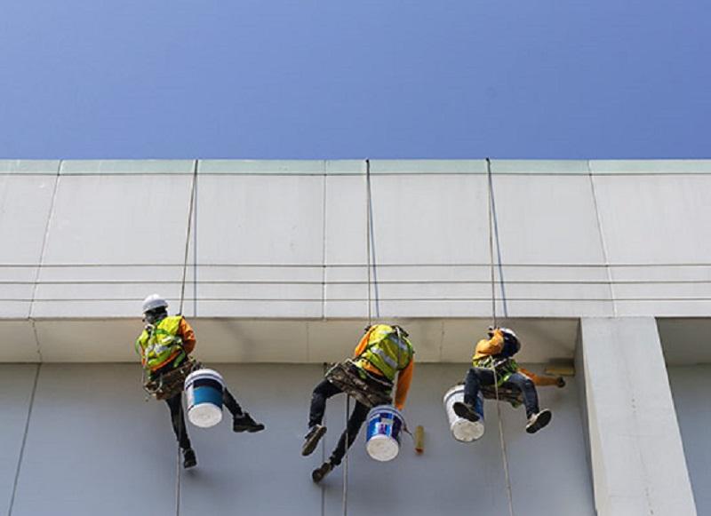 رنگ آمیزی و نقاشی نمای ساختمان
