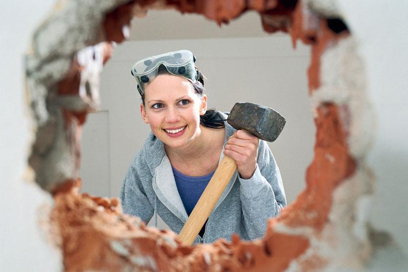 نکات خراب کردن دیوار خانه