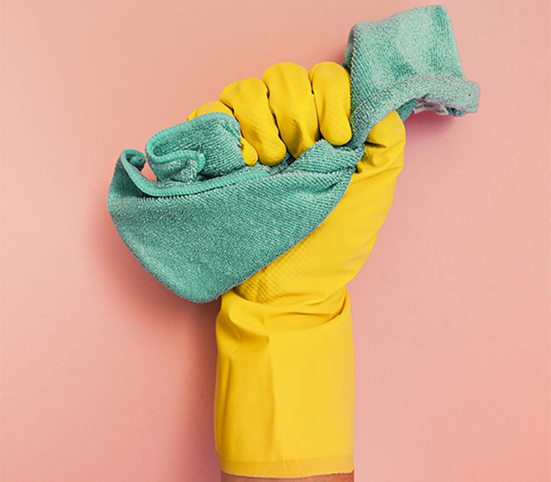 دستکش بپوشید