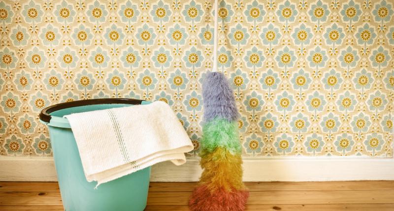 شست و شوی کاغذ دیواری