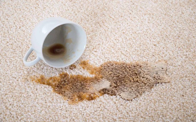 پاک کردن لکه چای از فرش و مبلمان