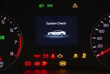 چراغهای هشدار پشت آمپر خودرو