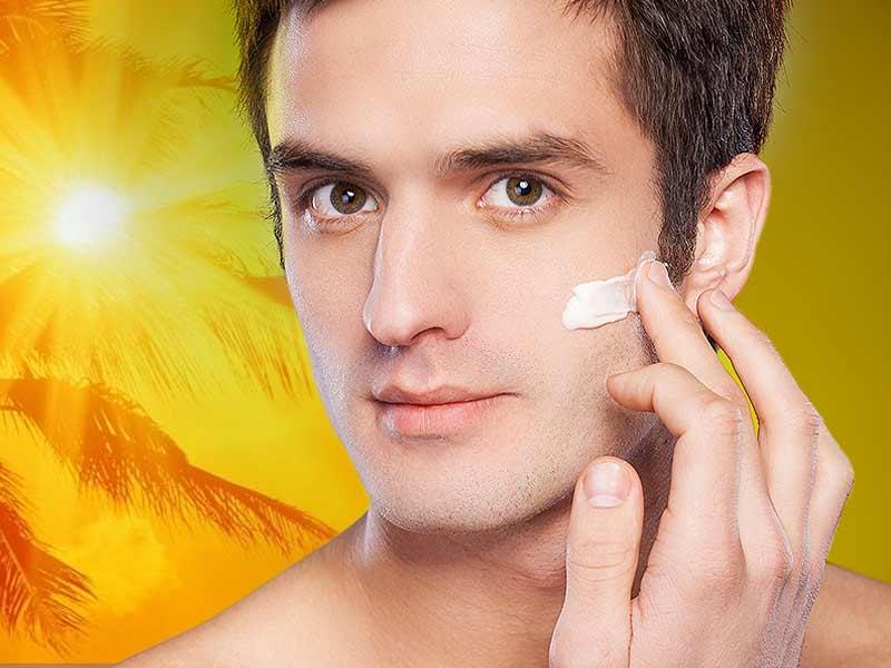 مراقبت پوست مردان و استفاده مردان از کرم ضدآفتاب