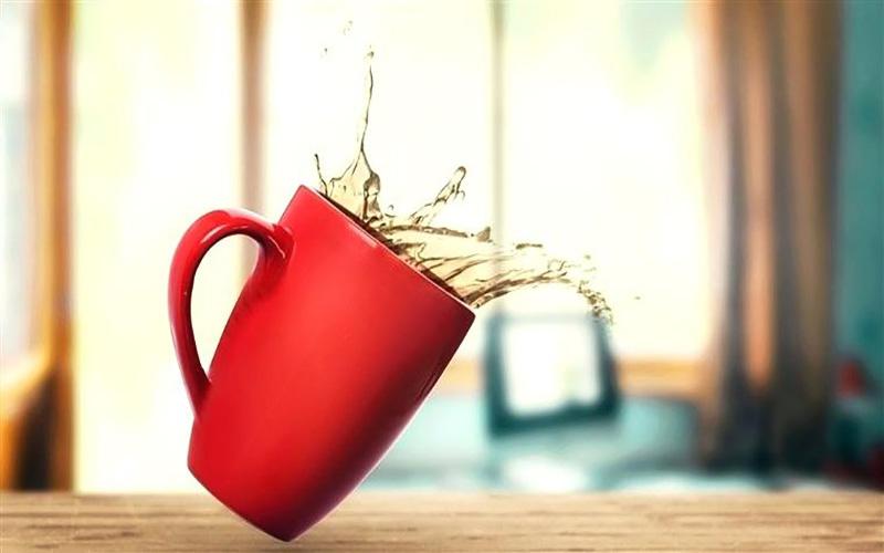 روش های پاک کردن لکه چای