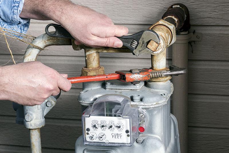 روشهای لولهکشی گاز طبیعی در خانه | لولهکشی گاز توکار | لولهکشی گاز روکار