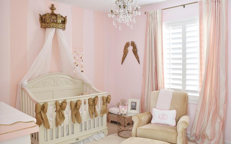 استفاده از تور در اتاق نوزاد