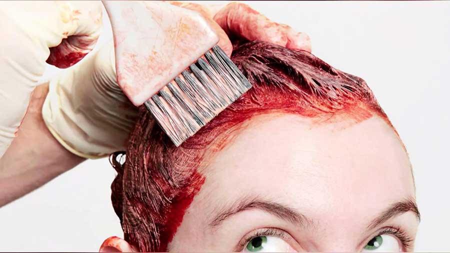 چطور لکه رنگ مو را از روی پوست و وسایل پاک کنیم؟