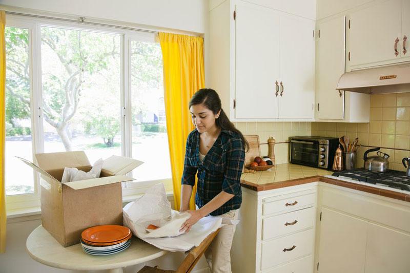بسته بندی ظروف شکستنی