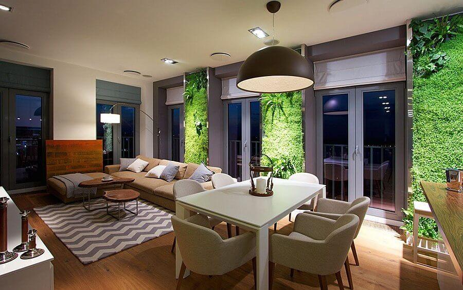 نحوه ساخت دیوار سبز در منزل؛ خانه تان را سبز کنید