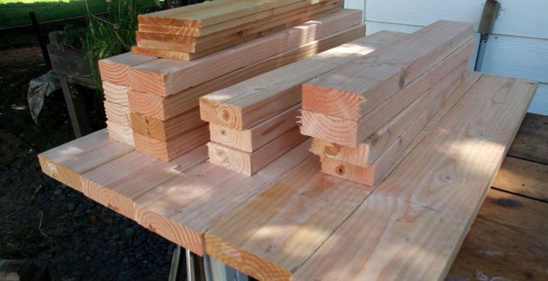 ساخت میز چوبی