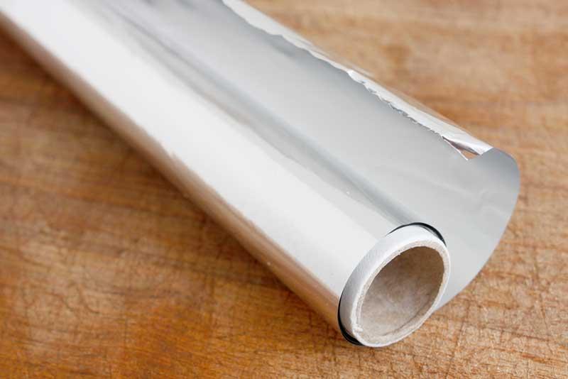 10 کاربرد جالب فویل آلومینیوم در خانه
