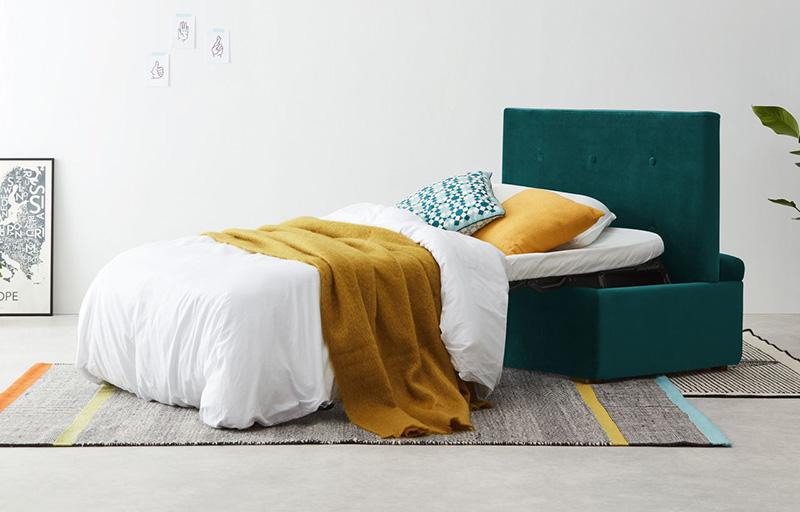 مدل پاف و مبل تختخواب شو و انواع مبلمان تطبیقپذیر و چندکاره