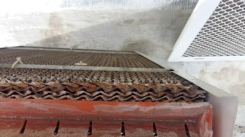 پدهای سلولوزی برای جلوگیری از شوره کولر آبی