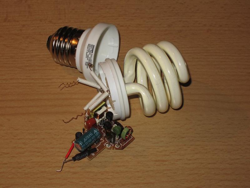 اجرای لامپ کم مصرف و تعمیر لامپ کم مصرف