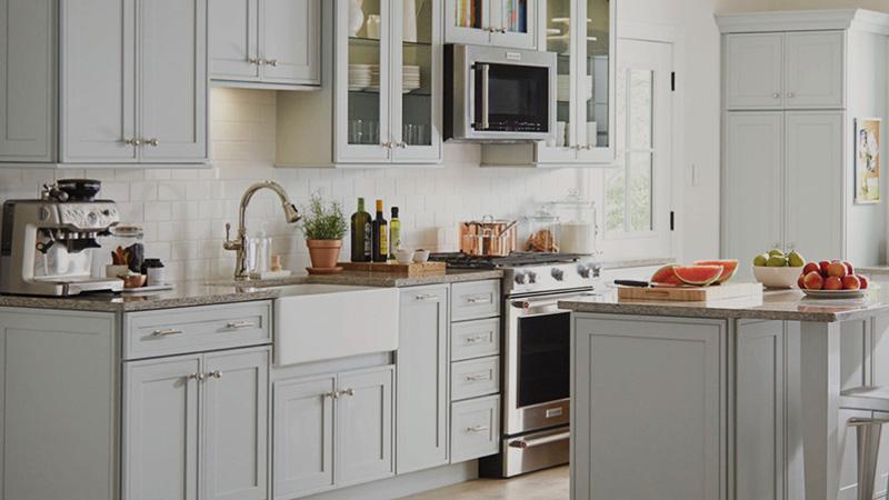 ابعاد کابینت استاندارد آشپزخانه و اندازه دقیق آن