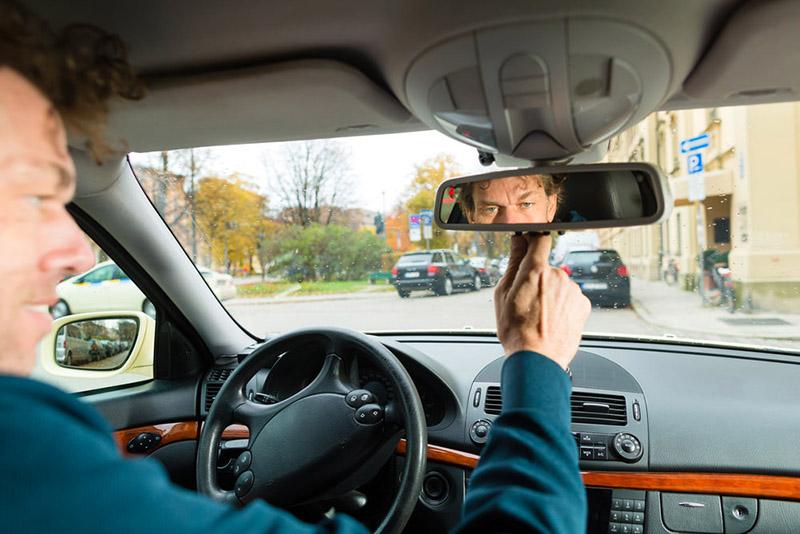 آموزش تنظیم آینه های خودرو