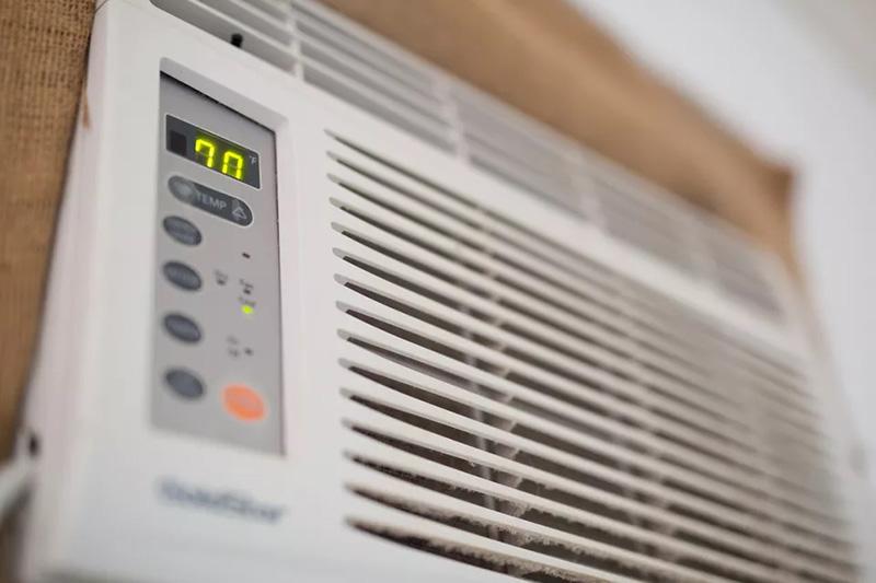 تنظیم درجه ترموستات کولر گازی پنجره ای