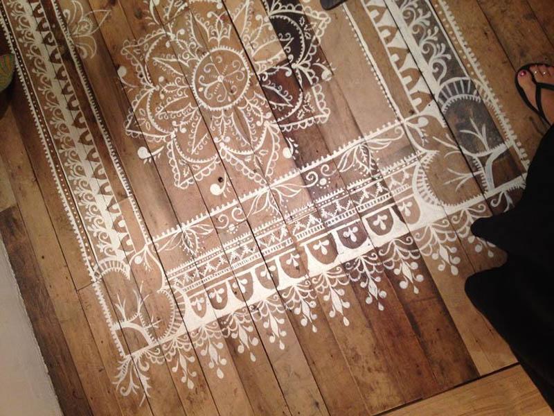 دکوراسیون خاص منزل طرح فرش روی زمین بیاندازید