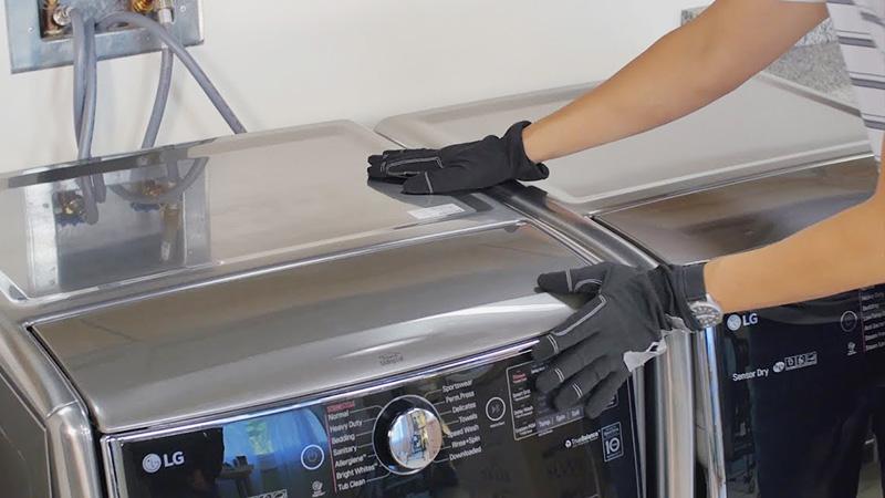 دستورالعمل های مهم ایمنی کار با ماشین لباسشویی ال جی