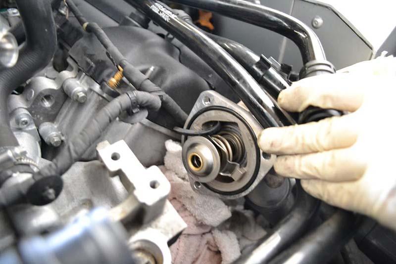 عیب در فن بخاری - کم بودن آب موتور - خرابی ترموستات