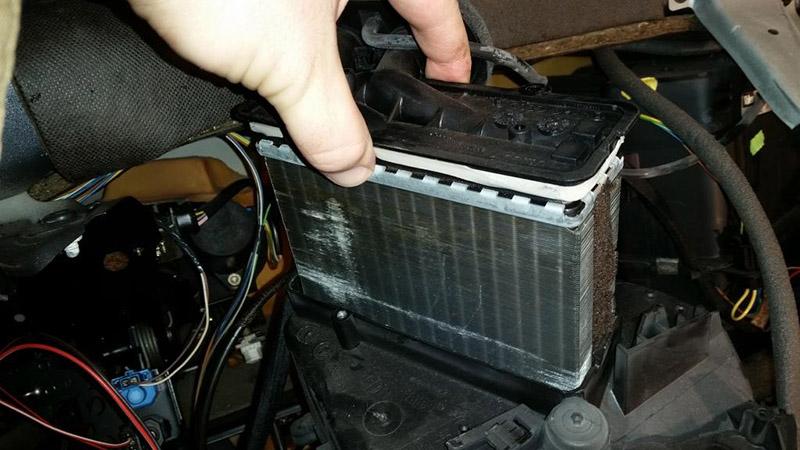 چگونه رادیاتور بخاری و بخاری پراید تعمیر و تعویض کنیم؟