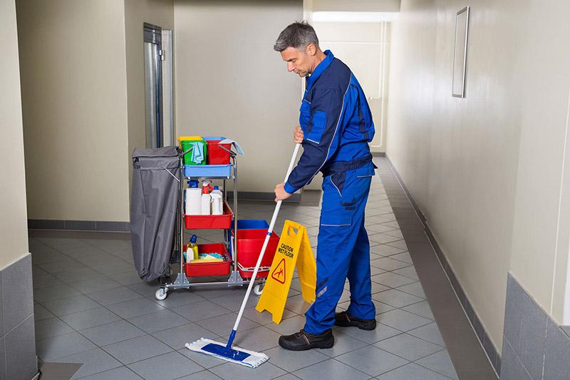 نظافت انواع راه پله