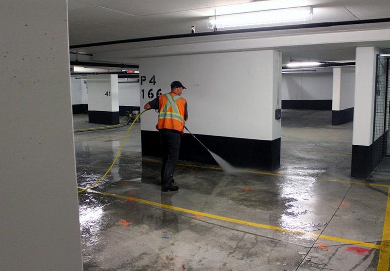 نظافت ساختمان