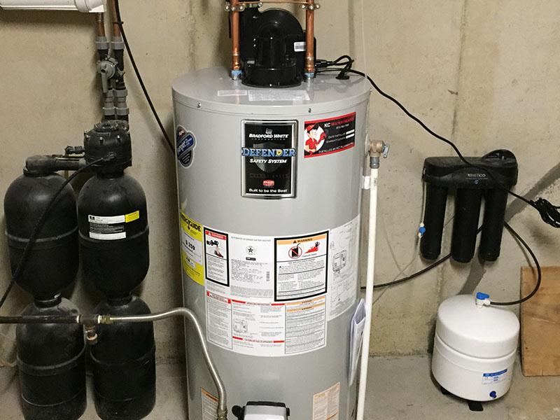 در آبگرمکنهای دوجداره از اتلاف گرما جلوگیری میشود.