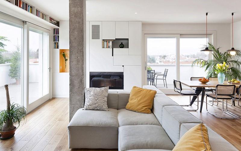 طراحی ستون داخل منزل | انواع ستون | ستون دکوراتیو