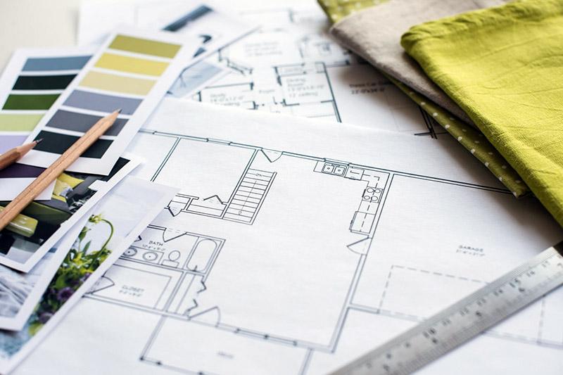 طراحی داخلی یکی دیگر از جنبههای مهم در بازسازی و یا ساخت بناست که بخش ساختن و طراحی داخلی خانه را از نظر هنری، بصری و کارکردی به عهده میگیرد. در واقع این رشته حد وسط میان طراحی دکوراسیون و معماری داخلی است و شانه به شانهی هر دو حرکت میکند.