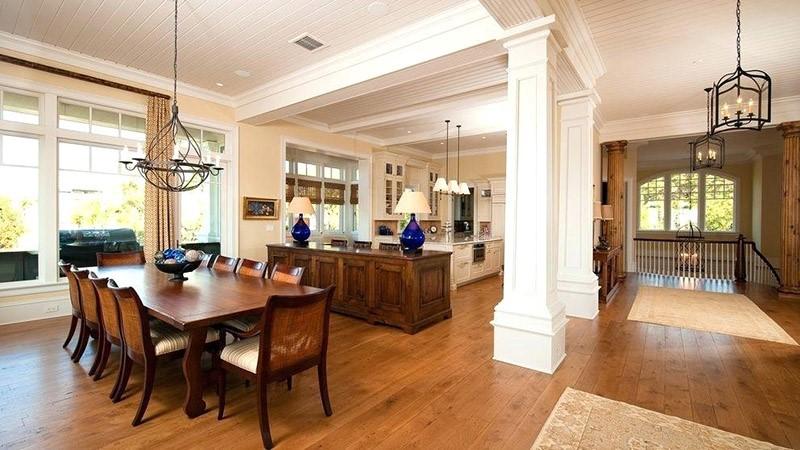 طراحی ستون داخل منزل | تزیین ستون با کناف