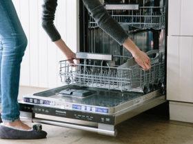 آموزش مرحله به مرحله جرم گیری ماشین ظرفشویی