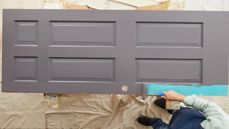 نقاشی درب چوبی و نکاتی که تاکنون نمیدانستید