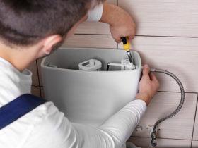 آموزش تعویض و تعمیر فلوتر توالت فرنگی