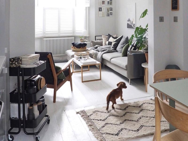 یکی از راهکارهایی که میتوانید برای ایجاد تنوع در خانه انجام دهید، سفید کردن کفپوش چوبی قدیمی اتاقتان است که دیگر رنگ و جلای اولیه خود را ندارد.