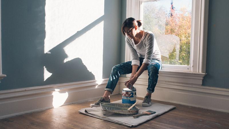 آموزش ترفندهایی برای ارزانتر کردن قیمت نقاشی ساختمان