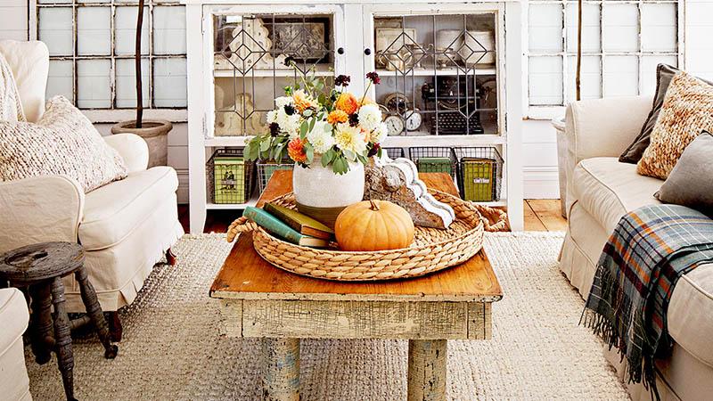 راهنمای آماده سازی خانه برای پاییز