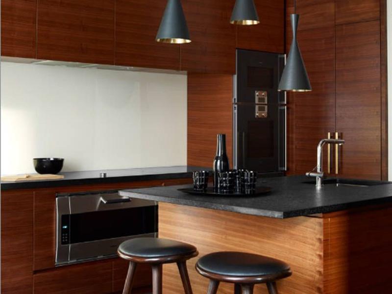 جدیدترین مدل کابینت آشپزخانه بدون دستگیره | کاربرد دستگیره مخفی کابینت در آشپزخانه کوچک