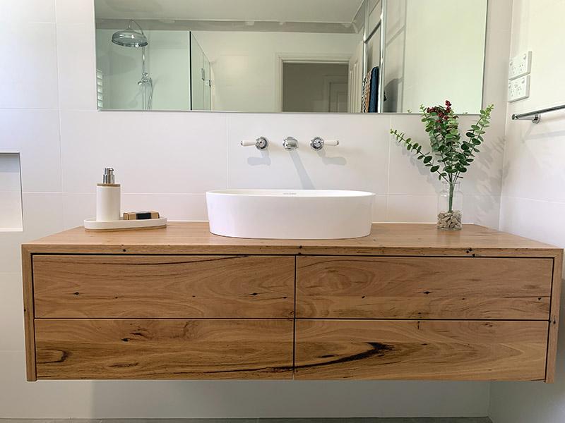 مدل کابینت روشویی چوبی و طرح چوب