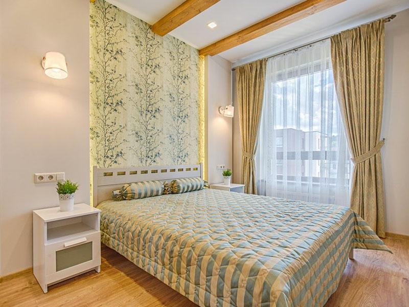 شیکترین مدلهای پرده ریلی برای اتاق خواب