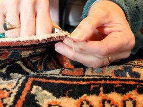 نکات طلایی ترمیم و رفوگری فرش دستباف و ماشینی